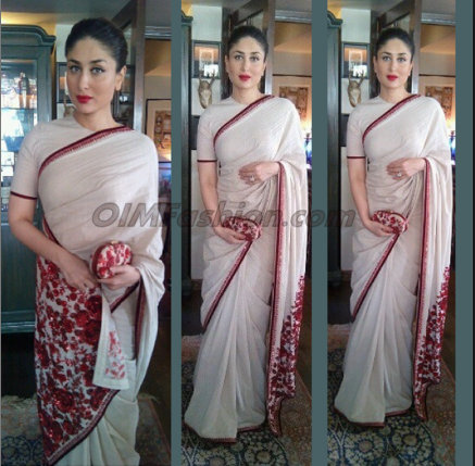 Celebrities in saree