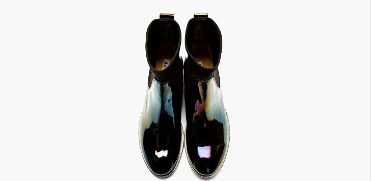 types of Black shoes Acne Studio