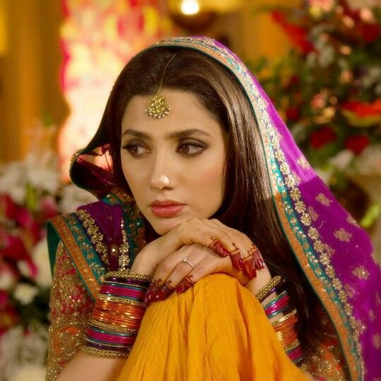 Mahira Khan Ethnic Look