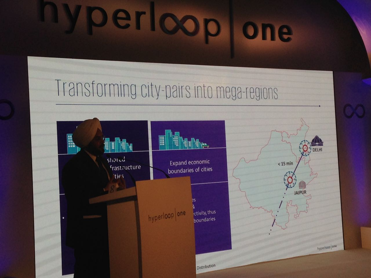 Hyperloop one India