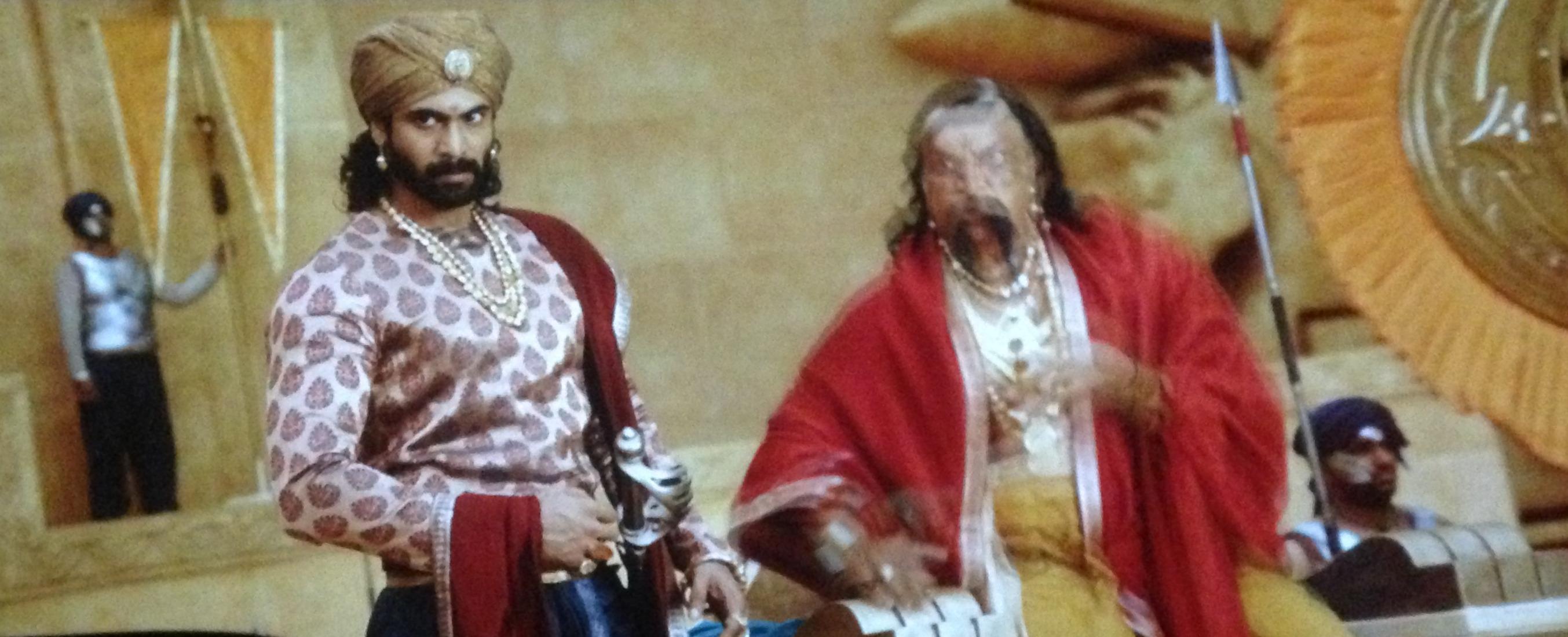 Bhallal Deva in bahubali 2
