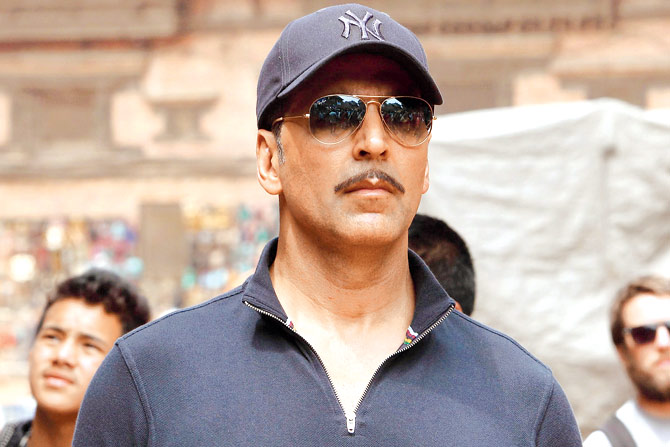 Akshay Kumar movie Baby look