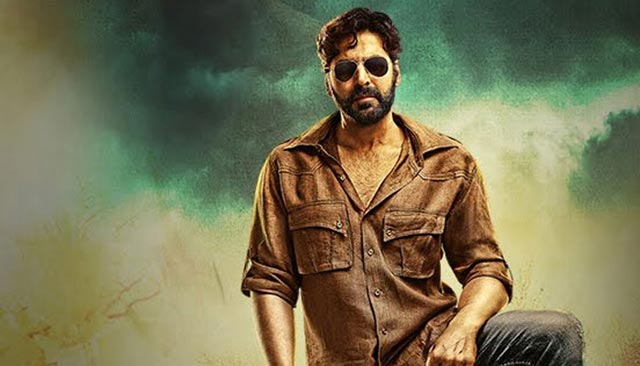 Akshay Kumar movie Gabbar look