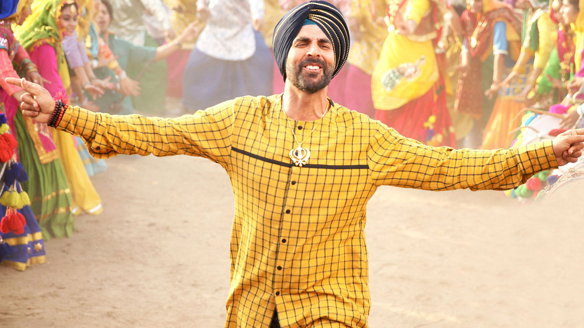 Akshay Kumar movie Singh is King look