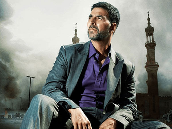 Akshay Kumar movie Airlift look