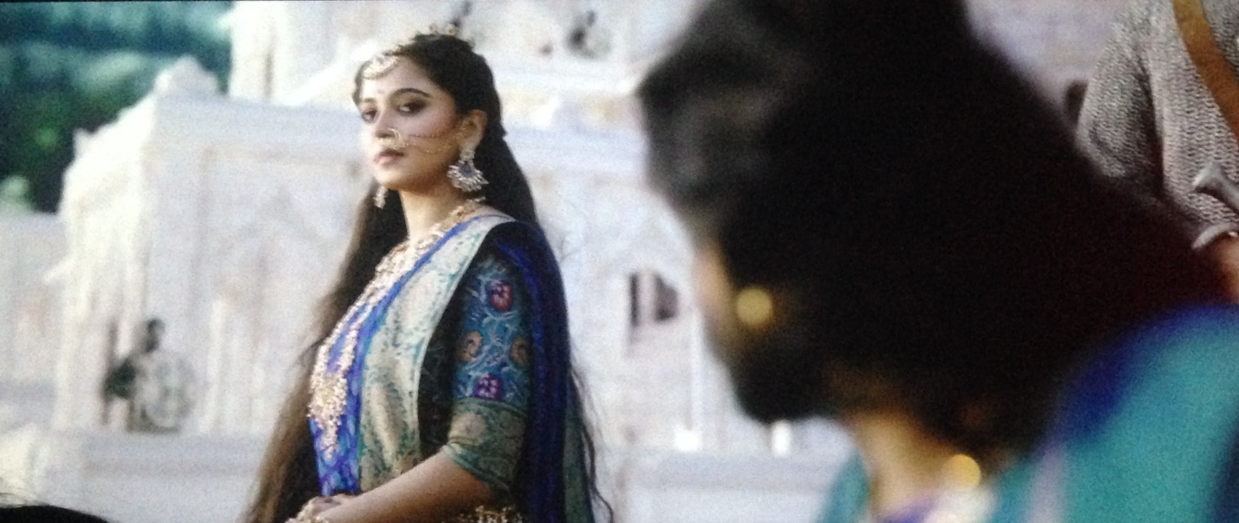Prabhas And Anushka In Bahubali Anushka Shetty Goddess...