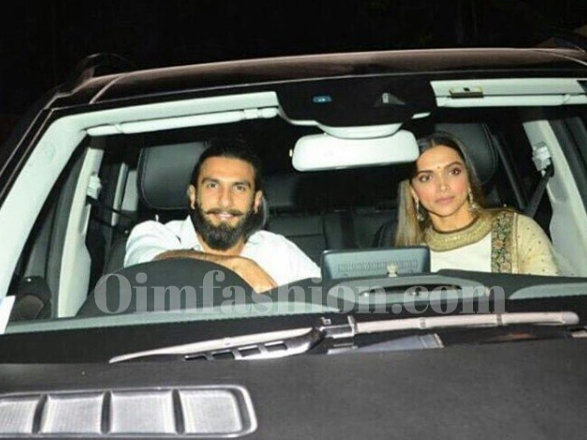 Deepika Ranveer Together, Deepika in Sabyasachi