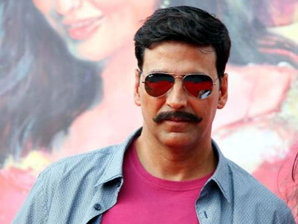 Akshay Kumar movie Rowdy Rathore look