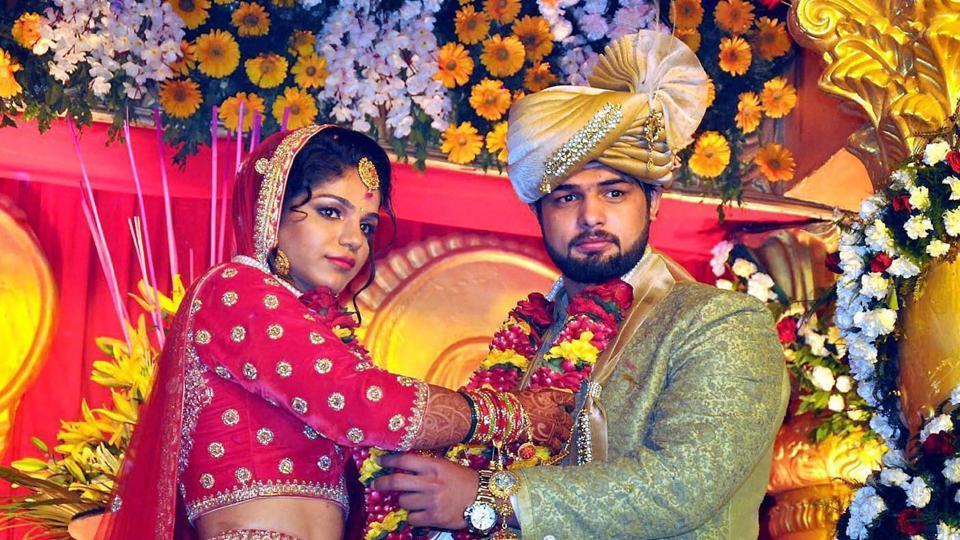 Sakshi malik Marriage photos