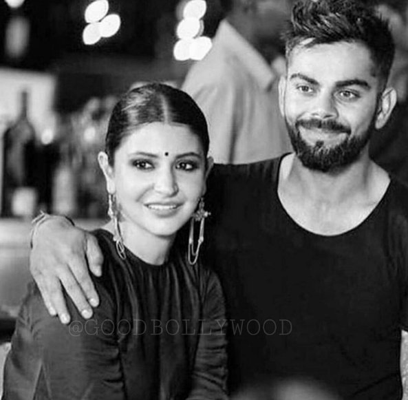 Virat Kohli New Instagram Dp with Anushka Sharma