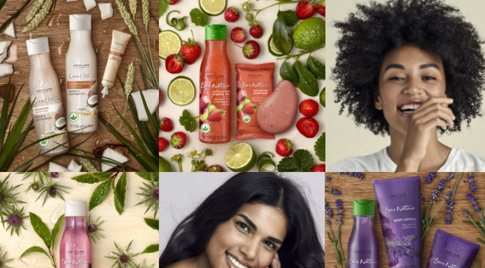 Love nature, oriflame, best body shower gel India, aloe vera, shower gel, natural products, oriflame