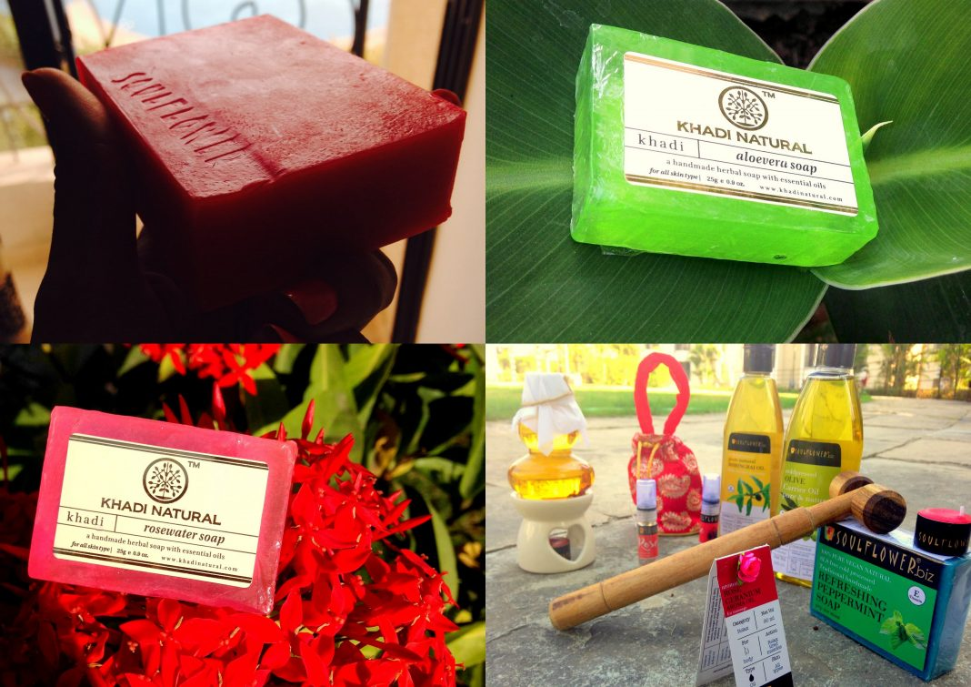 Natural soaps, khadi soaps, skin care, couple gifts, glycerine soaps, aromatic couple sets, sensational couple things, aroma therapy, organic sopas, vegan soaps, vegan cometic products, neem soap, rose soap, leon soap, scented candles, essential oils, massage therapy, massage oils,