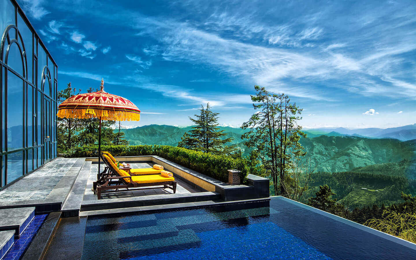 These best hotel views in india will make you envy for Best small hotels in the world