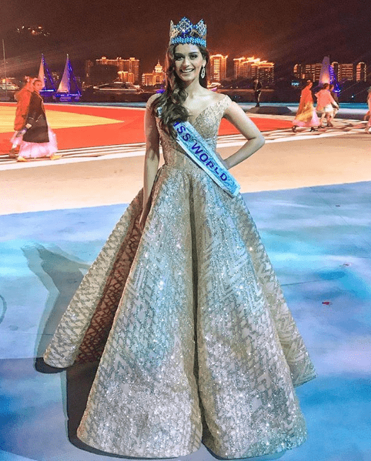 Manushi Chillar's Princess Moment