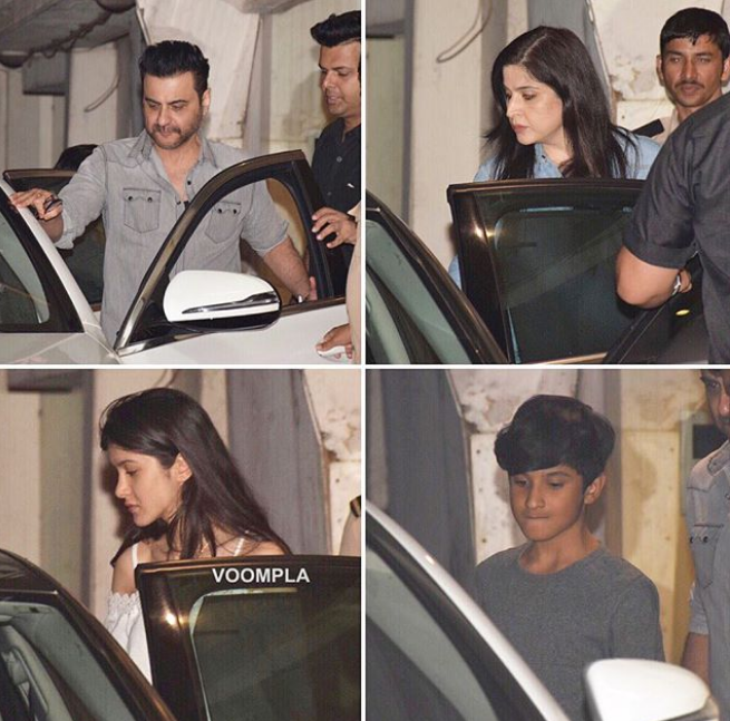 Janhvi Kapoor birthday, Janhvi Kapoor's 21st birthday, janhvi kapoor with family,