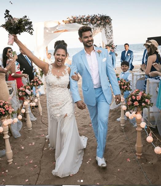 Keith Sequira, Rochelle Rao, Keith and Rochelle wedding, Keith and Rochelle marriage, Keith and rochelle beach wedding